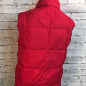 Lands' End Jackets & Coats - Lands' End Youth 14-16 Red Quilted Down Vest